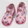 Růžové dětské přezůvky se vzorem bata, růžová, 179-5630 - 16