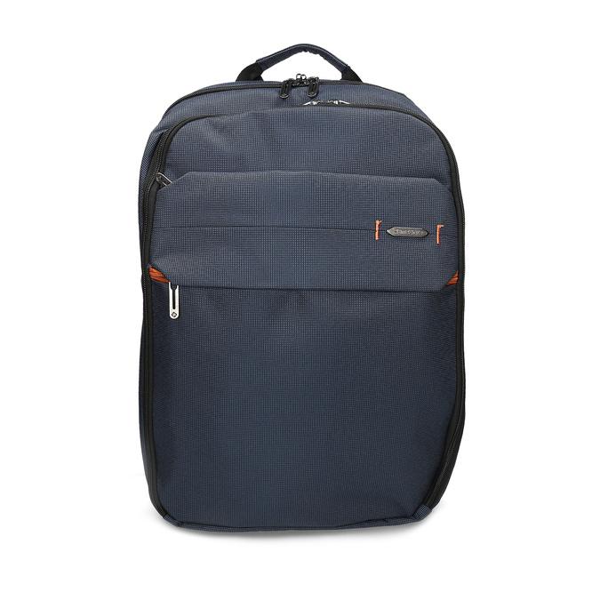 Tmavě modrý cestovní batoh samsonite, modrá, 960-9066 - 26