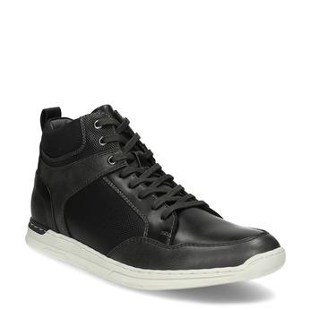 Černé pánské kotníčkové tenisky bata-red-label, černá, 841-6783 - 13