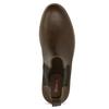 Kotníčková pánská Chelsea obuv bata-red-label, hnědá, 821-4669 - 17