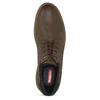 Hnědé pánské ležérní polobotky bata-red-label, hnědá, 821-4666 - 17