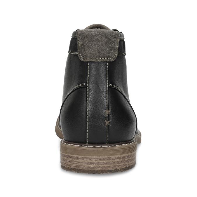 Pánská ležérní kotníčková obuv bata-red-label, černá, 821-6670 - 15