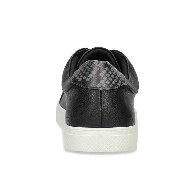 Černé dámské ležérní tenisky bata-red-label, černá, 541-6609 - 15