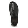 Dámská černá kožená Slip-on obuv bata, černá, 594-6625 - 17