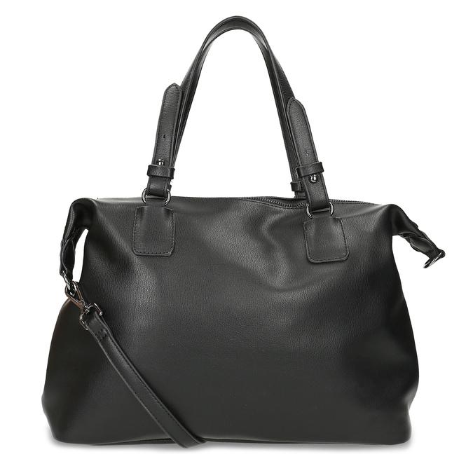 Černá dámská kabelka s popruhem bata, černá, 961-6993 - 16
