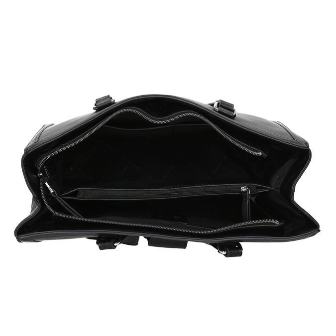 Černá dámská kabelka se cvoky bata, černá, 961-6998 - 15
