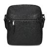Pánská černá Crossbody taška bata, černá, 969-6793 - 26