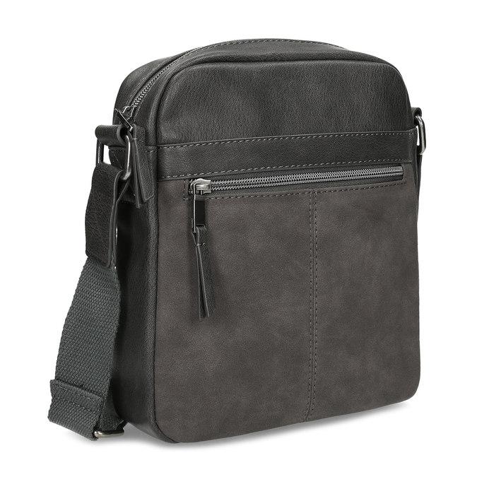 Šedá pánská taška přes rameno bata, šedá, 961-2714 - 13