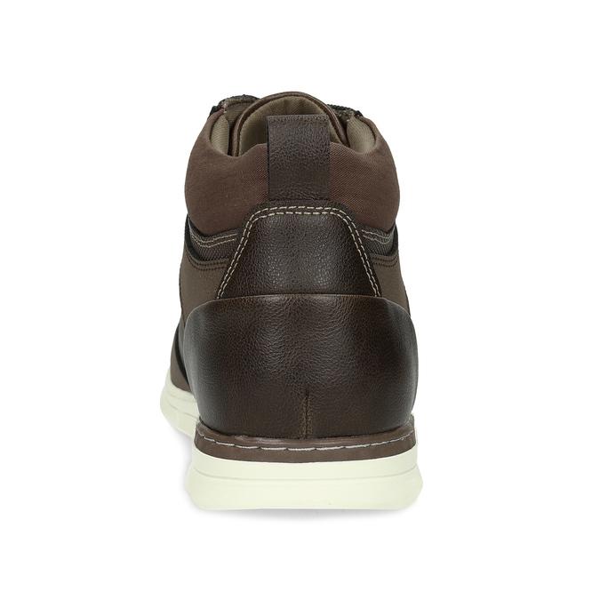Hnědá pánská kotníčková obuv bata-red-label, hnědá, 841-4783 - 15