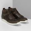 Hnědá pánská kotníčková obuv bata-red-label, hnědá, 841-4783 - 26