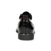 Černé lakované polobotky dámské bata, černá, 521-6601 - 15