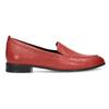 Kožené dámské mokasíny červené bata, červená, 534-5601 - 19