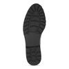 Dámské černé mokasíny lakované bata, černá, 551-6601 - 18
