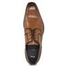Pánské hnědé kožené Ombré polobotky bata, hnědá, 826-3864 - 17