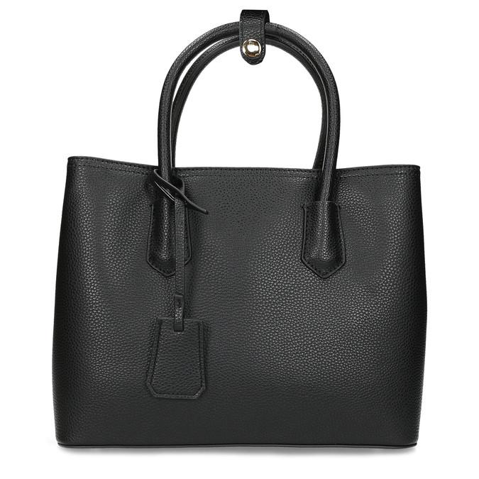 Černá dámská kabelka s popruhem bata, černá, 961-6970 - 26