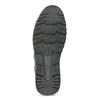 Hnědé kožené tenisky s prošitím bata, hnědá, 846-4622 - 18