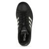 Dámské černé tenisky se stříbrnými detaily adidas, černá, 501-6221 - 17