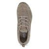 Dámské hnědé tenisky s úpletem skechers, béžová, 509-3122 - 17