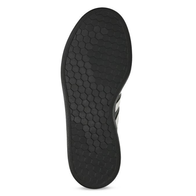 Dámské černé tenisky se stříbrnými detaily adidas, černá, 501-6221 - 18