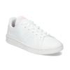 Bílé dámské tenisky s perforací adidas, bílá, 501-1240 - 13