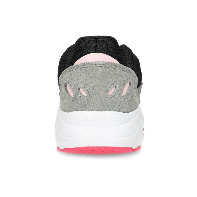 Černé dámské tenisky s šedými detaily adidas, černá, 501-6267 - 15