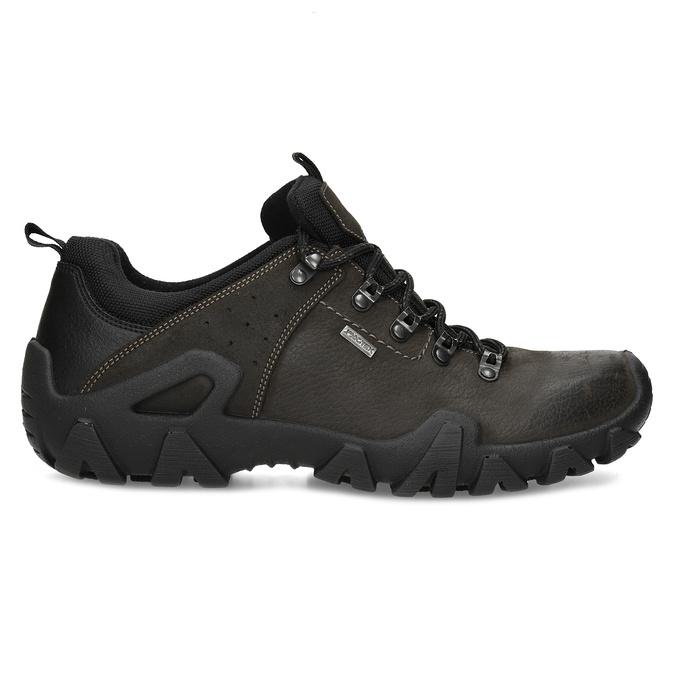 Pánská kožená obuv v Outdoor stylu weinbrenner, hnědá, 846-4722 - 19