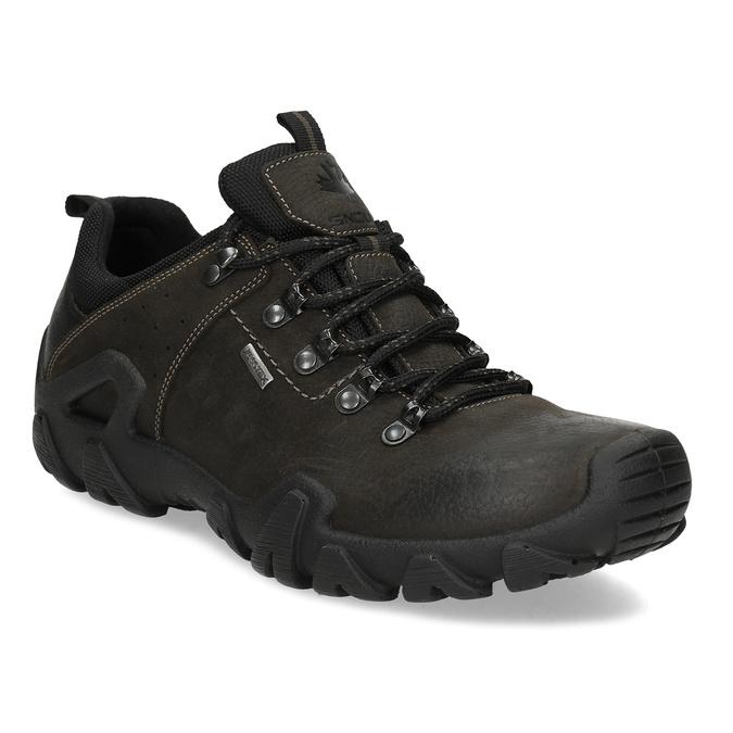 Pánská kožená obuv v Outdoor stylu weinbrenner, hnědá, 846-4722 - 13