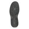 Černé pánské ležérní polobotky s prošitím bata, černá, 824-6911 - 18