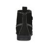 Kotníčkové kožená obuv s kontrastním prošitím weinbrenner, černá, 596-6602 - 15