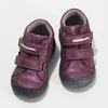 Fialová dětská kotníčková obuv na suché zipy bubblegummers, fialová, 121-9722 - 16