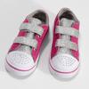 Růžové dětské tenisky s potiskem a kamínky mini-b, růžová, 229-5604 - 16