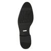 Kožená pánská černá kotníčková obuv conhpol, černá, 894-6600 - 18