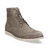 Béžová pánská kožená kotníčková obuv flexible, béžová, 823-8701 - 13