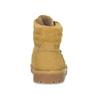 Dětská obuv ve stylu Worker s kožíškem richter, žlutá, 126-8614 - 15
