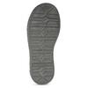 Šedá dětská kotníčková obuv z broušené kůže richter, šedá, 216-2600 - 18
