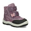 Fialová dětská zimní obuv na suché zipy geox, fialová, 199-5136 - 13