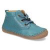 Modrá dětská kožená kotníčková obuv froddo, modrá, 114-9607 - 13