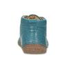 Modrá dětská kožená kotníčková obuv froddo, modrá, 114-9607 - 15