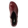 Červené kožené dámské kozačky s knoflíky gabor, červená, 696-5101 - 17