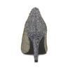Stříbrné dámské lodičky s modrými odlesky bata, stříbrná, 729-1620 - 15