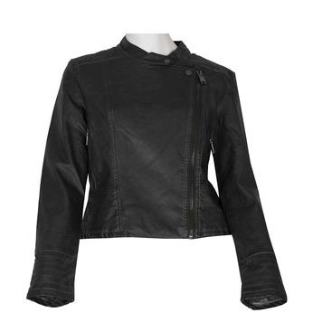 Šedá dámská bunda ve stylu křiváku bata, šedá, 971-2249 - 13