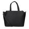 Černá dámská kabelka se zipem gabor, černá, 961-6241 - 16