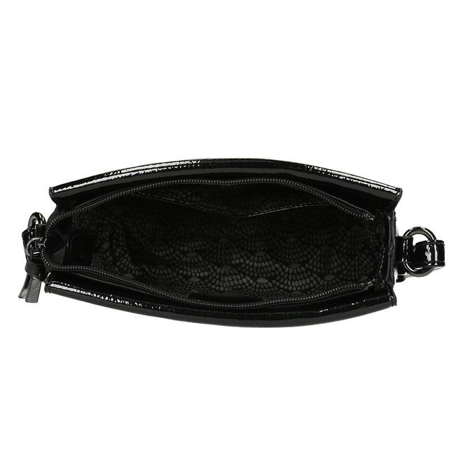 Dámská černá Crossbody kabelka gabor, černá, 961-6231 - 15