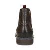 Kožená pánská kotníčková Chelsea obuv pikolinos, hnědá, 896-4816 - 15