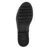 Černé dámské kožené kozačky bata, černá, 594-6689 - 18