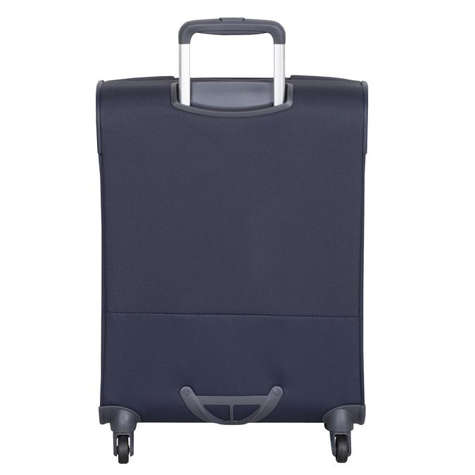 Modrý cestovní textilní kufr samsonite, modrá, 960-9037 - 26