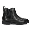 Dětská kožená kotníčková Chelsea obuv mini-b, černá, 394-6610 - 19