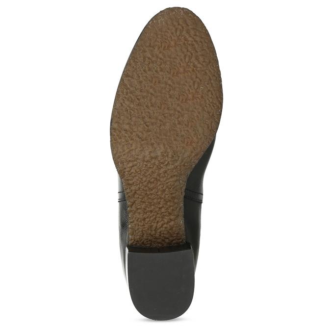 Dámská černá kožená Chelsea obuv bata, černá, 694-6624 - 18