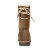 Dětské hnědé kožené kozačky s kožíškem richter, hnědá, 296-3602 - 15