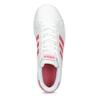 Bílé dětské tenisky s růžovými detaily adidas, bílá, 401-1447 - 17